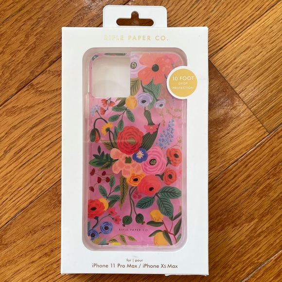 iPhone 11 Pro Max Rifle Paper Co case NWT 😍 🌸